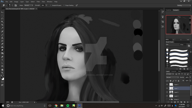 Woah, what?? A WIP?? Of LANA?? Yes. by 4-dimensional