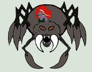Xull on a Spider by CrypticStar