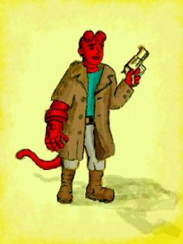 teen hellboy by chaitanyak