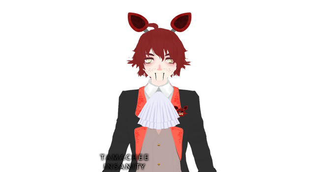 {MMD x FnaF} Foxy Update [WIP #2] by Tamachee-Insanity