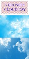 CLOUD DAY BRUSHES by serunisavana