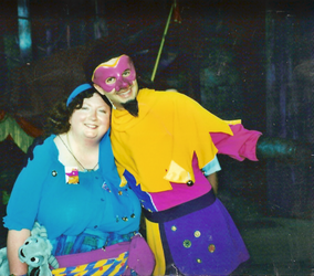 Clopin and The Gypsy Queen by mouselady