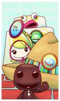 A Colorful Hello from Sackboy by Angerfish