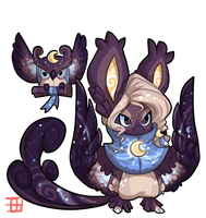 #1117 Hybrid BB - Night Owl by griffsnuff