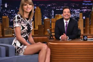 Taylor Swift at the Tonight Show by ChaoticWarlord