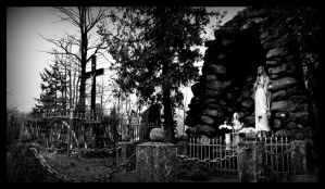 cemetery. Lourdes by MarchCoven