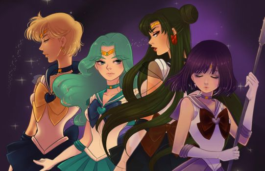 Outer sailor scouts by Watertae