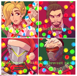 Christmas Icons Batch 2 by Shellsweet