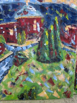 Abstraction of campus 2 by jmarks0257