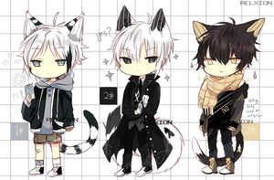 [AUCTION*CLOSED]Lineheart*31 by Relxion-kun