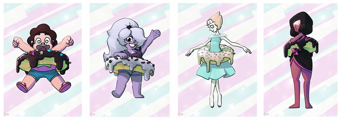Steven Universe Poster Set by CPTBee