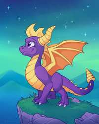 Spyro!! by Oomles
