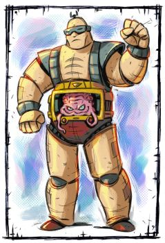 Krang color by stalnososkoviy
