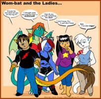 Wom-bat and the Ladies by Wom-bat