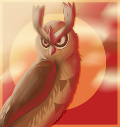 Some Weird Noctowl by FireMoon9