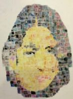 Wife meets Chuck Close by NateDtail
