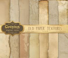 Old Paper Textures by DigitalCurio
