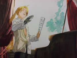 Conductor Edward Elric by AvianFighter
