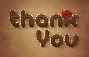 Thank You by Textuts