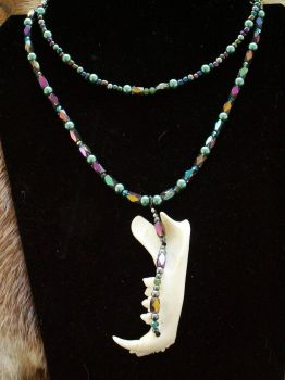 FOR SALE: BobCat's Cunning: Talisman Necklace. by Canis-Angst