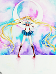 Watercolor Works: Sailormoon Crystal 2 by Hikarisoul2