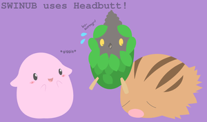 SWINUB uses Headbutt