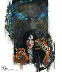 Mother of Tigers by Michelle-Winer
