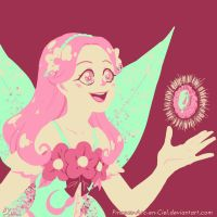98 Flowers of happiness - Palette Challenge by Pinceau-Arc-en-Ciel