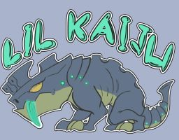 Lil Kaiju - shirt design by Grieverjoe