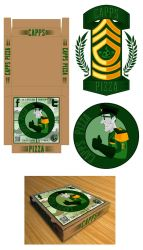 Capps logo and box by dschuler-creative
