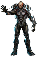 Halo 4 - The Didact (Render) HQ by Crussong