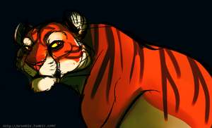 Mr. Tiger by Squeakcore