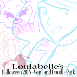 2016 Halloween: Vent Art and Doodle/Sketch Pack. by LoulabeIIe