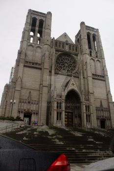 Neo Gothic Cathedral in San Francisco  by ArtRock15
