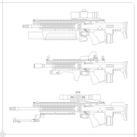 F12 Assault rifle by Skariaxil