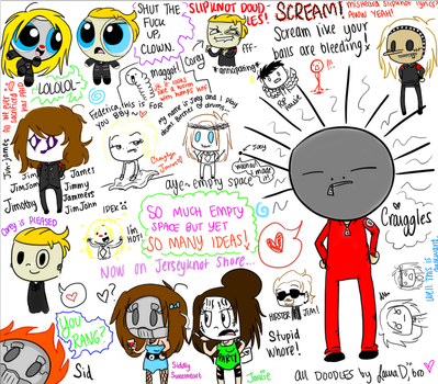 Slipknot DOODIES- uh, doodles by xx-VampirexMelly