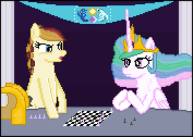 Art Contest Entry- Fray Seams by 8-BitBrony
