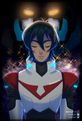 Keith voltron by KimiaArt