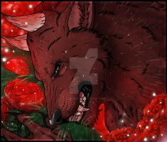 A Dying Beast's Roses by Cloudymayday