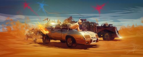 Mad Max Fury Road by Predator2104