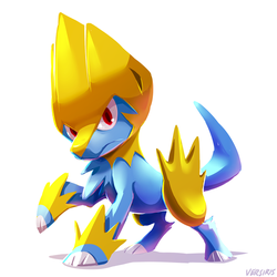 PKMN - Manectric by Versiris