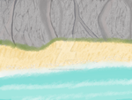 Crystal Prism: The Beach of Twilight Cove by AshWolf-Forever