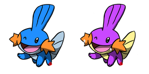 Pokemon #257 - Mudkip by Fyreglyphs