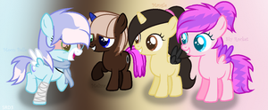 {MLP} Let's go little fillys ! by SoarinRainbowDash3