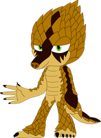 Male Pangolin Adopt :AUCTION: .:CLOSED:. by SkullzArt