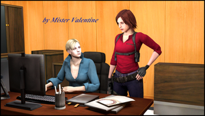 Jill and Claire by Mister-Valentine