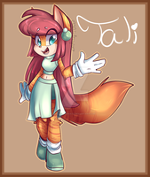 Sonic OC Tali The Cat by BlueKazenate
