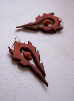 - Horde Earrings - by IskaDesign