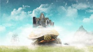 the city on a turtle by Mthethwa