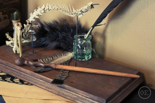 Remus Lupin's wand replica by enguerrand